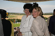 Bronwen Lady Astor and her daughter The Countess of March, Glorious Goodwood. 31 July 2007.  -DO NOT ARCHIVE-© Copyright Photograph by Dafydd Jones. 248 Clapham Rd. London SW9 0PZ. Tel 0207 820 0771. www.dafjones.com.