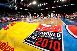 Preliminary Round - Group B basketball match between National teams of Slovenia and Croatia at 2010 FIBA World Championships on August 30, 2010 at Abdi Ipekci Arena in Istanbul, Turkey.