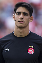 August 15, 2017 - Girona, Spain - Portrait of Bounou from Marrakesh of Girona FC  during the Costa Brava Trophy match between Girona FC and Manchester City at Estadi de Montilivi on August 15, 2017 in Girona, Spain. (Credit Image: © Xavier Bonilla/NurPhoto via ZUMA Press)