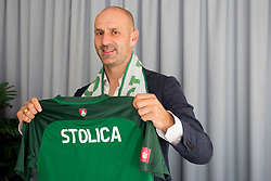 Ilija Stolica at presentation of new head coach of NK Olimpija Ljubljana, on June 12, 2018 in Ljubljana, Slovenia. Photo by Urban Urbanc / Sportida