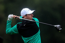 September 10, 2018 - Newtown Square, Pennsylvania, United States - Rory McIlroy tees off the 10th hole during the final round of the 2018 BMW Championship. (Credit Image: © Debby Wong/ZUMA Wire)
