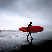 Surfers and swimmers brave stronger than usual waves ahead of Typhoon Neoguri at Shonan Beach in Fujisawa, Kanagawa Prefecture, 50 kilometers south of Tokyo. The typhoon is one of the strongest to hit the country in more than a decade, and has already caused damage, injuries, and at least one death in the southern islands of Japan. The storm is expected to weaken as it churns its way north and east across the archipelago, but authorities are warning of flooding and landslides caused by massive amounts of rain.