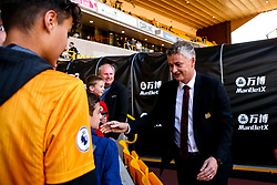 Manchester United manager Ole Gunnar Solskjaer arrives at Molineux ahead of the Premier League fixture against Wolverhampton Wanderers - Mandatory by-line: Robbie Stephenson/JMP - 19/08/2019 - FOOTBALL - Molineux - Wolverhampton, England - Wolverhampton Wanderers v Manchester United - Premier League