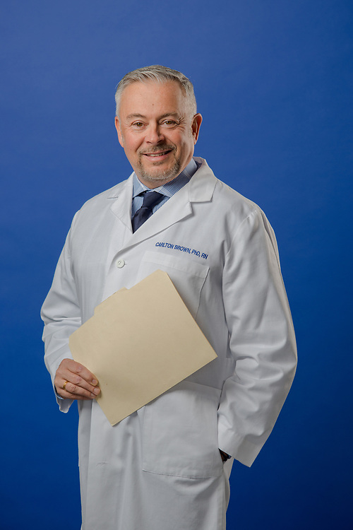 Portrait of Carl Brown for Oncology News