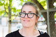 Volvo-ägaren Carla Shetzline, 49år. Portland, Oregon, USA<br /> Foto: Christina Sjögren
