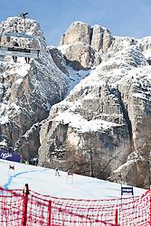 23.01.2011, Tofana, Cortina d Ampezzo, ITA, FIS World Cup Ski Alpin, Lady, Cortina, SuperG, im Bild Übersicht auf die Olympiapiste von Cortina during FIS Ski Worldcup ladies SuperG at pista Tofana in Cortina d Ampezzo, Italy on 23/1/2011. EXPA Pictures © 2011, PhotoCredit: EXPA/ J. Groder