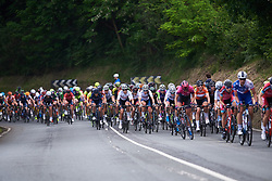 Clara Koppenburg (GER) and Martina Ritter (AUT) in the bunch at Emakumeen Bira 2018 - Stage 4, a 120 km road race starting and finishing in Durango, Spain on May 22, 2018. Photo by Sean Robinson/Velofocus.com