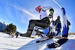 SLIVNIK Jernej, LW12-1, SLO, Giant Slalom at the WPAS_2019 Alpine Skiing World Cup, La Molina, Spain