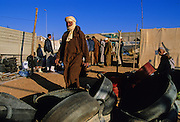 Tiznit, the last Morocco's city before the Western Sahara desert. The weekly market.