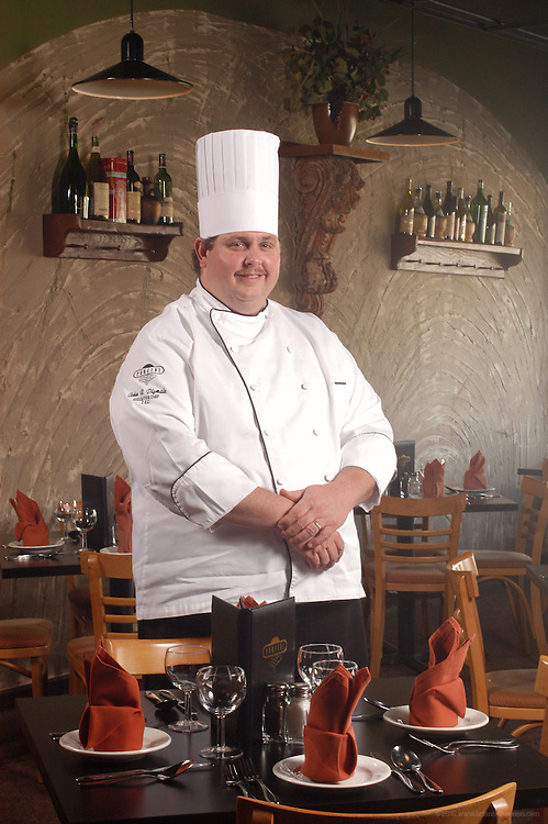 John Plymale, Executive Chef, Porcinis Restaurant.