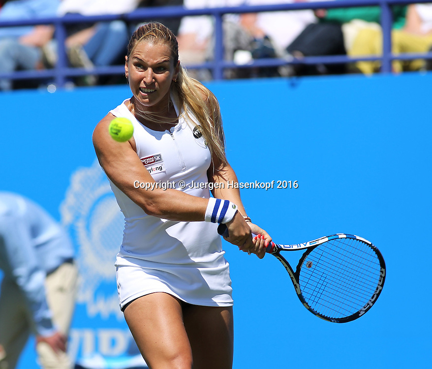 Dominika Cibulkova (SVK)<br /> <br /> Tennis - Aegon International Eastbourne - WTA -  Devonshire Park Lawn Tennis Club - Eastbourne -  - Great Britain  - 24 June 2016. <br /> &copy; Juergen Hasenkopf
