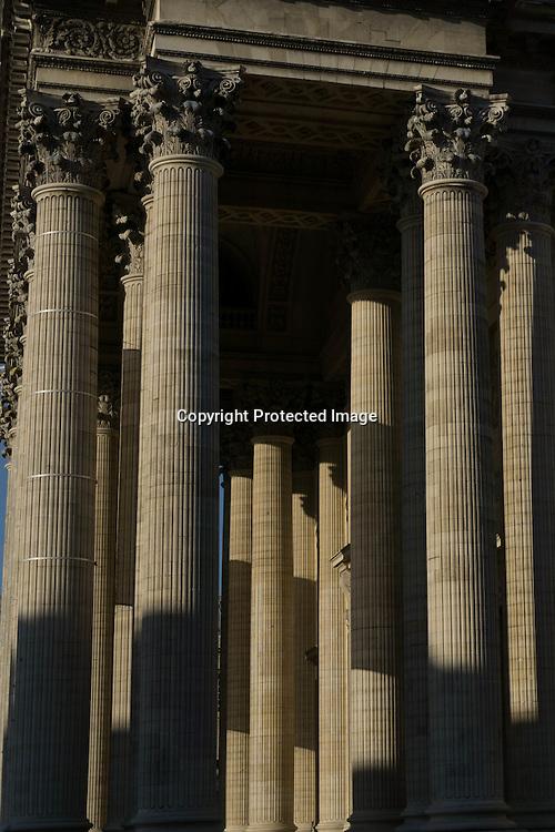 Paris 5th. the Pantheon