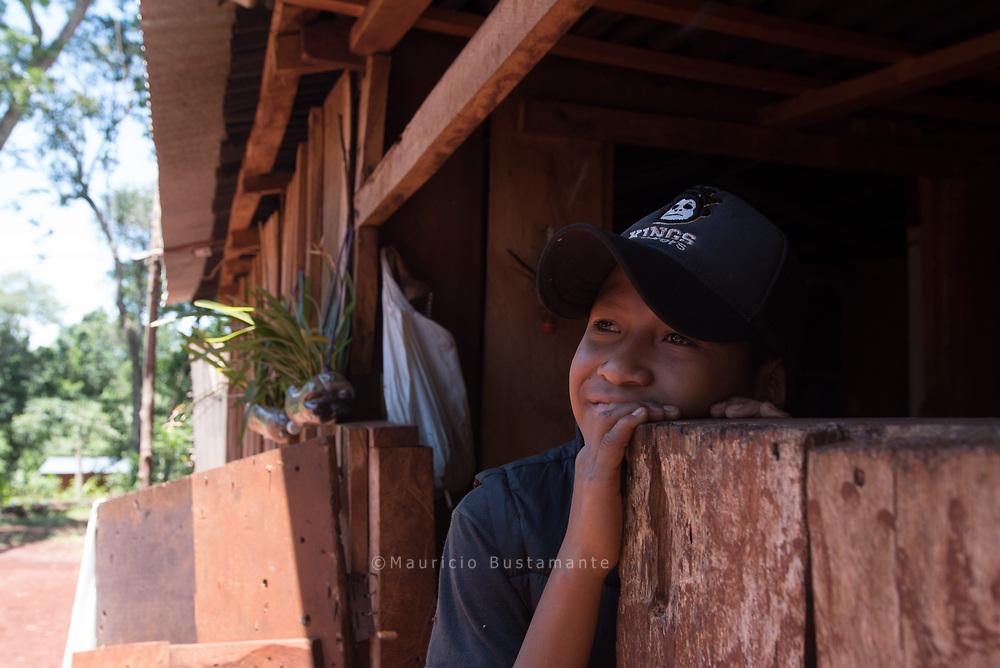 Jose Luis Morinigo (11) Comunidad aborigen Guarani. Aldea Tupa Mbae