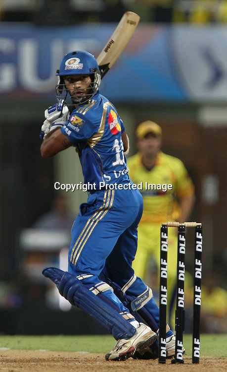 Dhawan, Indian Premier League twenty20 cricket final, Mumbai Indians v Chennai Super Kings, 26 April 2010.