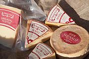 Skjenald, Tilsiter og Rokoll, oster fra Orkdal Ysteri i Trøndelag.
