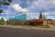 Carbondale Library Exterior, Willis Pember Architects