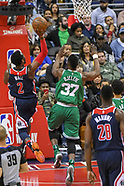 Celtics vs the Wizards 10 April 2018