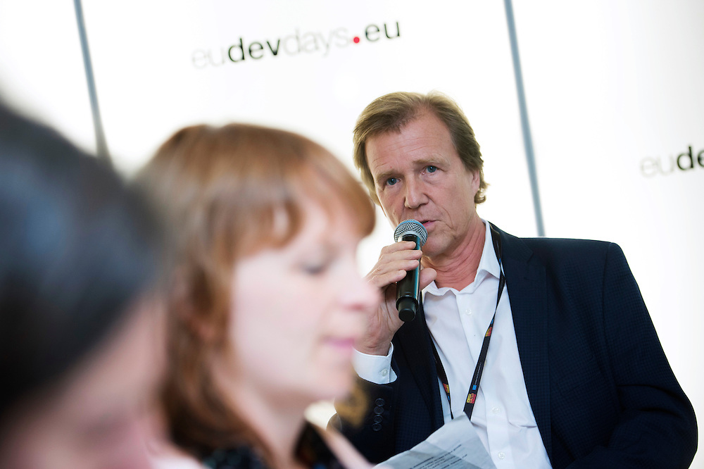 03 June 2015 - Belgium - Brussels - European Development Days - EDD - Growth - Fighting poverty through innovative business models - Oliver Griffith<br /> Head of Communications and Public Affairs, West Europe, International Finance Corporation (IFC) &copy; European Union