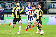 Voetbal Heerenveen Eredivisie 2014-2015 SC Heerenveen - Vitesse: Simon Thern (SC Heerenveen)