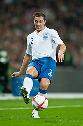 17.11.2010, Wembley Stadium, London, ENG, Freundschaftliches Laenderspiel, England vs Frankreich, im Bild England's Phil Jagielka in action// during the International Friendly match England vs France in London at Wembley Stadium on 17/11/2010, EXPA Pictures © 2010, PhotoCredit: EXPA/ Propaganda/ D. Rawcliffe *** ATTENTION *** UK OUT!