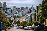 Union Street, Russian Hill (color)