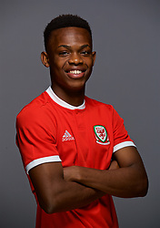 CARDIFF, WALES - Sunday, November 18, 2018: Wales' Rabbi Matondo. (Pic by David Rawcliffe/Propaganda)