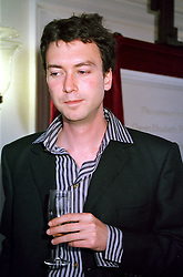 MR ALEX SAINSBURY son of Sir Tim Sainsbury, at a <br /> reception in London on 25th May 2000.OEN 127<br /> © Desmond O'Neill Features:- 020 8971 9600<br />    10 Victoria Mews, London.  SW18 3PY <br /> www.donfeatures.com   photos@donfeatures.com<br /> MINIMUM REPRODUCTION FEE AS AGREED.<br /> PHOTOGRAPH BY DOMINIC O'NEILL
