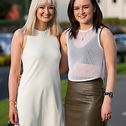 13.05.2016.           <br /> Arlene McLaughlin and Catherine Smyth both from Donegal pictured at the much anticipated Limerick School of Art & Design, LIT, (LSAD) Graduate Fashion Show on Thursday 12th May 2016. The show took place at the LSAD Gallery where 27 graduates from the largest fashion degree programme in Ireland showcased their creations. Ranked among the world's top 50 fashion colleges, Limerick School of Art and Design is continuing to mold future Irish designers.. Picture: Alan Place/Fusionshooters