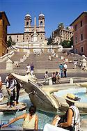 Italien, Rom Spanische Treppe