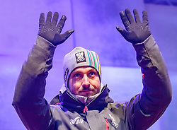 27.02.2018, Salzburg, AUT, PyeongChang 2018, ÖOC Medaillenfeier, im Bild Marcel Hirscher // during a ÖOC medal celebration Party after the Olympic Winter Games Pyeongchang 2018 in Salzburg, Austria on 2018/02/27. EXPA Pictures © 2018, PhotoCredit: EXPA/ JFK