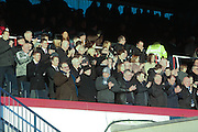 Applause for Ian Redford - Dundee v Livingston,  SPFL Championship at Dens Park<br /> <br />  - &copy; David Young - www.davidyoungphoto.co.uk - email: davidyoungphoto@gmail.com