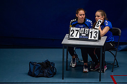 20-04-2019 NED: Dutch Championship Youth Sitting Volleyball, Veenendaal<br /> The future sitting volleyball toppers in action at the National Youth Volleyball Championship in Veenendaal / Scylia