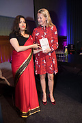 Prinses Mabel bij de boekpresentatie van The Impatient Dr. Lange, een boek over het werk van de bij de ramp met de MH17 omgekomen aidsstrijder Joep Lange. De boekpresentatie vond plaats in de Beurs van Berlage in de week van de internationale aidsconferentie AIDS2018<br /> <br /> Princess Mabel at the book presentation of The Impatient Dr. Lange, a book about the work of the AIDS fighter Joep Lange, who died in the crash of the MH17. The book presentation took place at the Beurs van Berlage in the week of the international AIDS conference AIDS2018