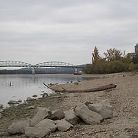 Danube low water level
