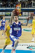 DESCRIZIONE : Frosinone Lega Basket A2 2011-12  Prima Veroli Centrle del Latte Brescia<br /> <br /> GIOCATORE : Franko Bushati<br /> <br /> CATEGORIA : tiro<br /> <br /> SQUADRA : Centrale del Latte Brescia<br /> <br /> EVENTO : Campionato Lega A2 2011-2012<br /> <br /> GARA : Prima Veroli Centrale del Latte Brescia <br /> <br /> DATA : 18/03/2012<br /> <br /> SPORT : Pallacanestro <br /> <br /> AUTORE : Agenzia Ciamillo-Castoria/ A.Ciucci<br /> <br /> Galleria : Lega Basket A2 2011-2012 <br /> <br /> Fotonotizia : Frosinone Lega Basket A2 2011-12 Prima Veroli Centrale del Latte Brescia<br /> <br /> Predefinita :