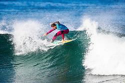 Courtney Conlogue (USA) will surf in Round 2 of the 2018 Roxy Pro France after placing second in Heat 4 of Round 1 in Hossegor, France.
