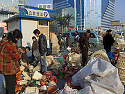 an outdoor woven basket market Beijing China
