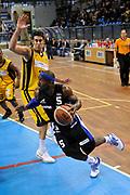 DESCRIZIONE : Novara Lega A2 2009-10 Campionato Miro Radici Fin. Vigevano - AB Latina<br /> GIOCATORE : Courtney Eldridge<br /> SQUADRA : AB Latina<br /> EVENTO : Campionato Lega A2 2009-2010<br /> GARA : Miro Radici Fin. Vigevano AB Latina<br /> DATA : 14/03/2010<br /> CATEGORIA : Penetrazione<br /> SPORT : Pallacanestro <br /> AUTORE : Agenzia Ciamillo-Castoria/D.Pescosolido