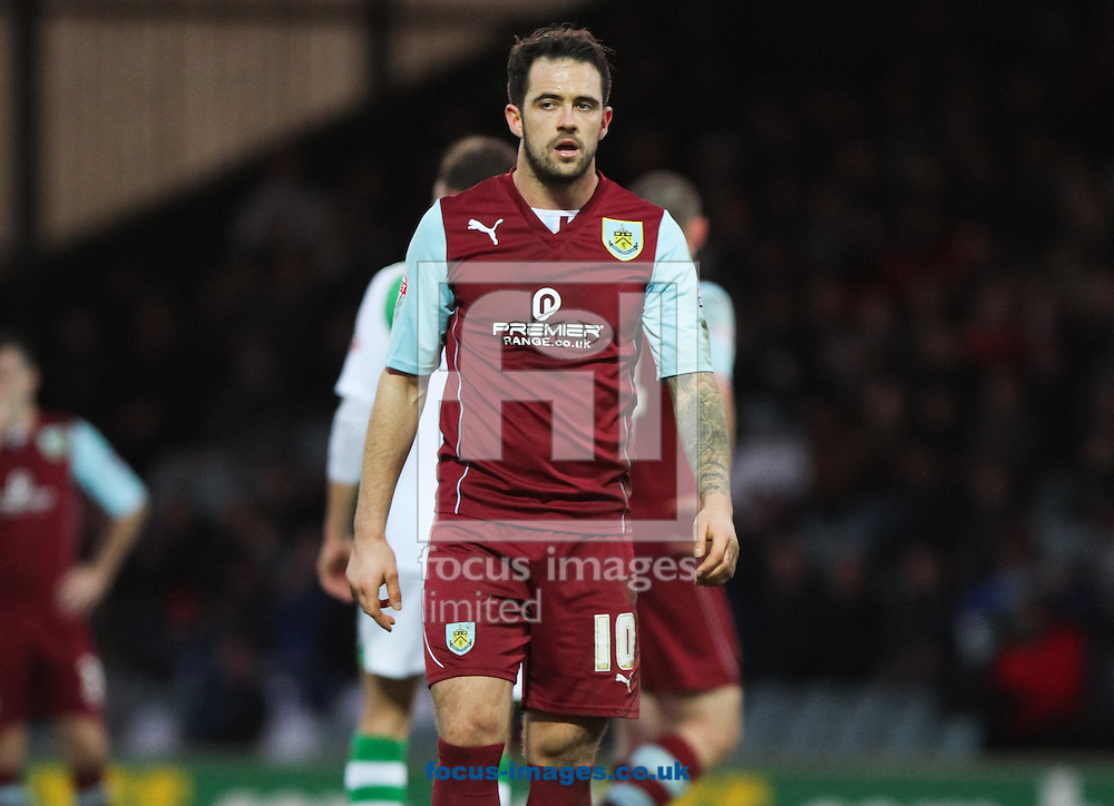 Picture by Tom Smith/Focus Images Ltd 07545141164<br /> 11/01/2014<br /> Danny Ings of Burnley during the Sky Bet Championship match at Huish Park, Yeovil.