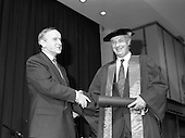 1992 - Conferring of Honorary Degrees (LL.D.) by the National Council for Educational Awards in