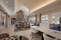 Interior Design image of Arcadia Run Apartments in Manassas Virginia by Jeffrey Sauers of Commercial Photographics, Architectural Photo Artistry in Washington DC, Virginia to Florida and PA to New England