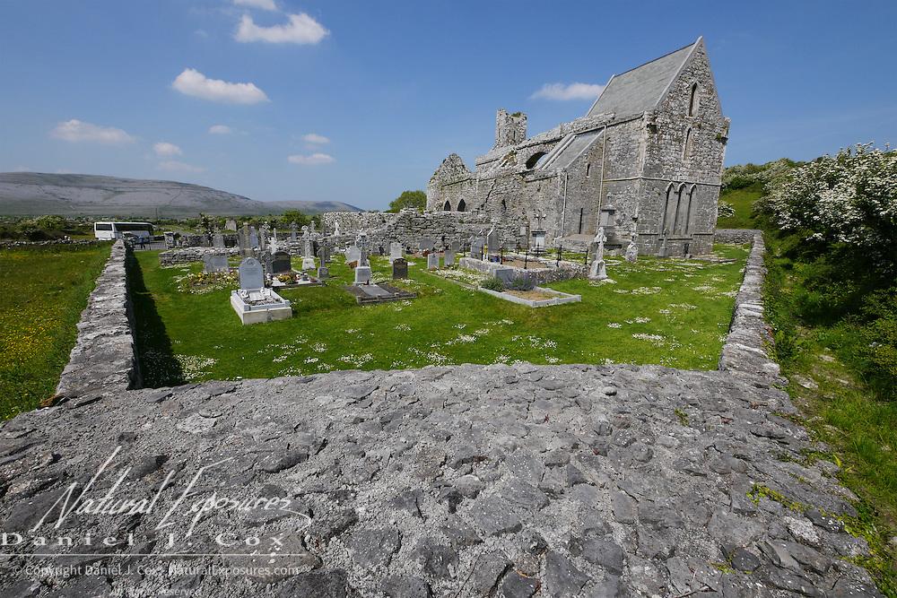 Carran Medieval Church, Ireland.