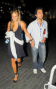 01.JULY.2007. LONDON<br /> <br /> A VERY HAPPY CHELSY DAVY WALKING DOWN WEMBLEY WAY HOLDING HANDS WITH SOME GUY ON HER WAY TO THE AFTERPARTY FOR THE IN MEMORY OF PRINCESS DIANA CONCERT AT WEMBLEY ARENA.<br /> <br /> BYLINE: EDBIMAGEARCHIVE.CO.UK<br /> <br /> *THIS IMAGE IS STRICTLY FOR UK NEWSPAPERS AND MAGAZINES ONLY*<br /> *FOR WORLD WIDE SALES AND WEB USE PLEASE CONTACT EDBIMAGEARCHIVE - 0208 954 5968*