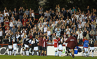 Photo: Ed Godden.<br /> Brentford v Swansea City. Coca Cola League 1. 12/09/2006. The Swansea fans applaud their team after they win 2-0.