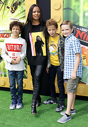 Garcelle Beauvais at the Los Angeles premiere of 'The LEGO Ninjago Movie' held at the Regency Village Theatre in Westwood, USA on September 16, 2017.
