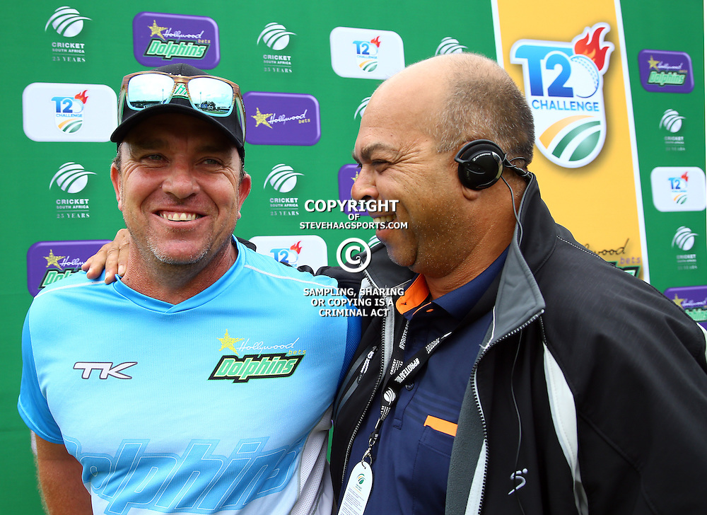 Grant Morgan Hollywoodbets Dolphins Head Coach during the Hollywoodbets Dolphins and Warriors T20 T20 Challenge.Sahara Stadium, Kingsmead Durban, South Africa.13 November 2016 - (Photo by Steve Haag)