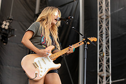 June 20, 2018 - Oshkosh, Wisconsin, U.S - Musician LINDSAY ELL during Country USA Music Festival at Ford Festival Park in Oshkosh, Wisconsin (Credit Image: © Daniel DeSlover via ZUMA Wire)