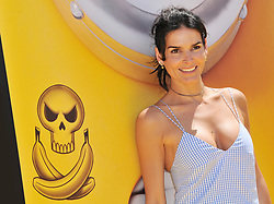 "Angie Harmon arrives at the ""Despicable Me 3"" Los Angeles Premiere held at the Shrine Auditorium in Los Angeles, CA on Saturday, June 24, 2017.  (Photo By Sthanlee B. Mirador) *** Please Use Credit from Credit Field ***"