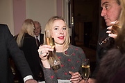 JOANNA BELL, Launch of book by Basia Briggs, Mother Anguish. The Ritz hotel, Piccadilly. 4 December 2017