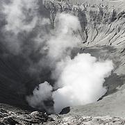 Climbing Mount Bromo, Ijen and Merapi. 2014/2015